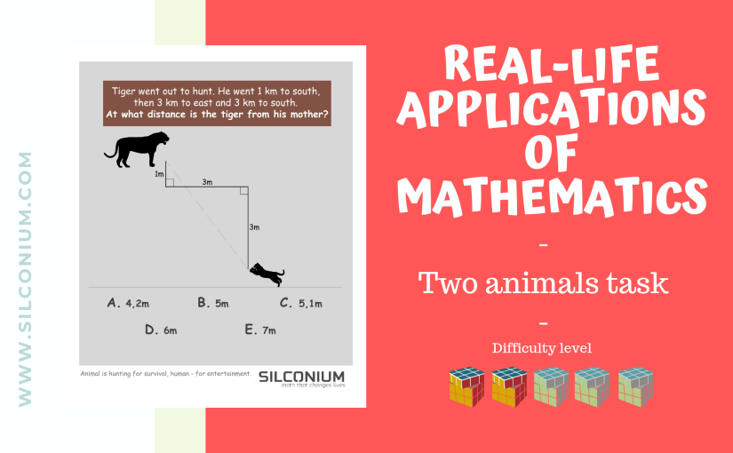 Animals and nature – application of the Pythagorean Theorem in Real Life